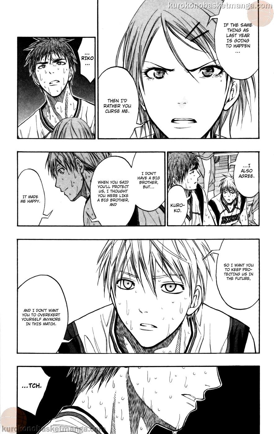 Kuroko no Basket Manga Chapter 105 - Image 19