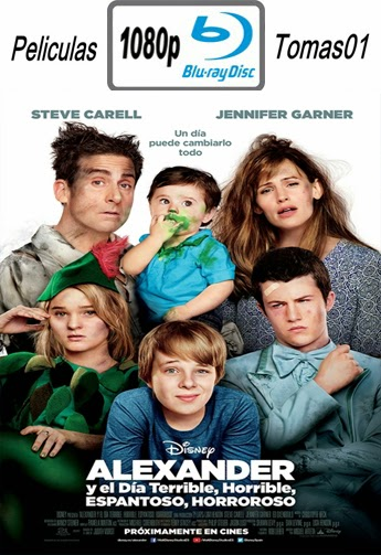 Alexander y el día terrible, horrible, malo… ¡muy malo! (2014) (BDRip) BRRip 1080p