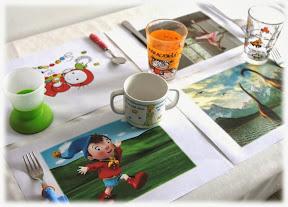 set de table enfant créer personnalisé