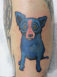 "George Rodrigue's ""Blue Dog"""