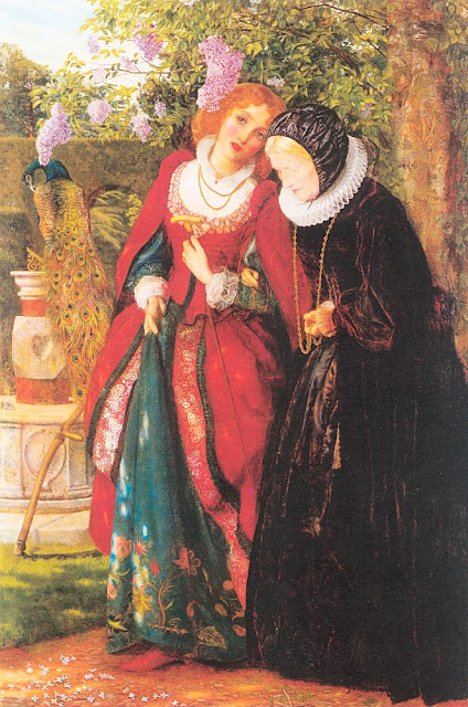 Arthur Hughes - Silver and Gold