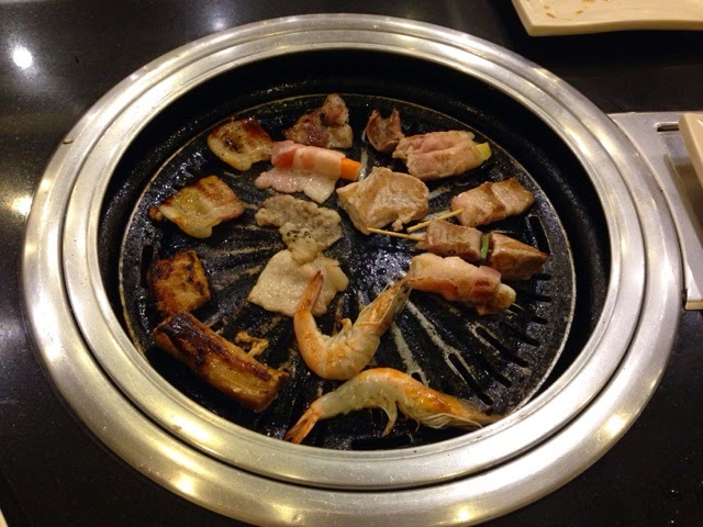 sambokujin, grill, buffet, japanese, restaurant, food,