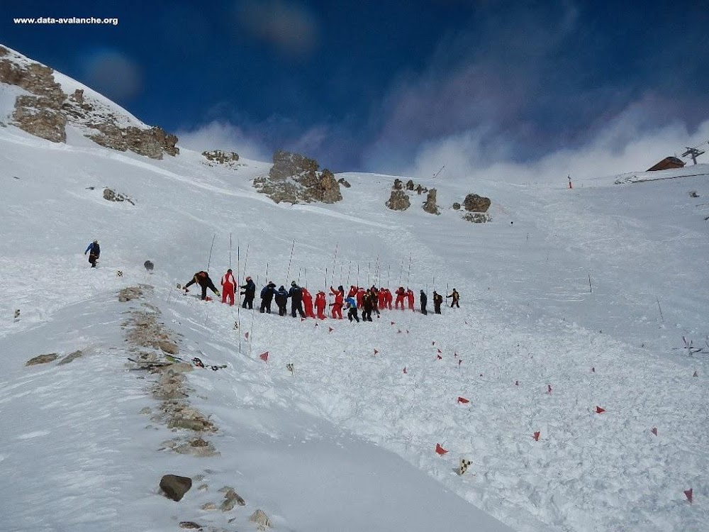 Avalanche Haute Maurienne, secteur Aussois, Plan Sec - Photo 1