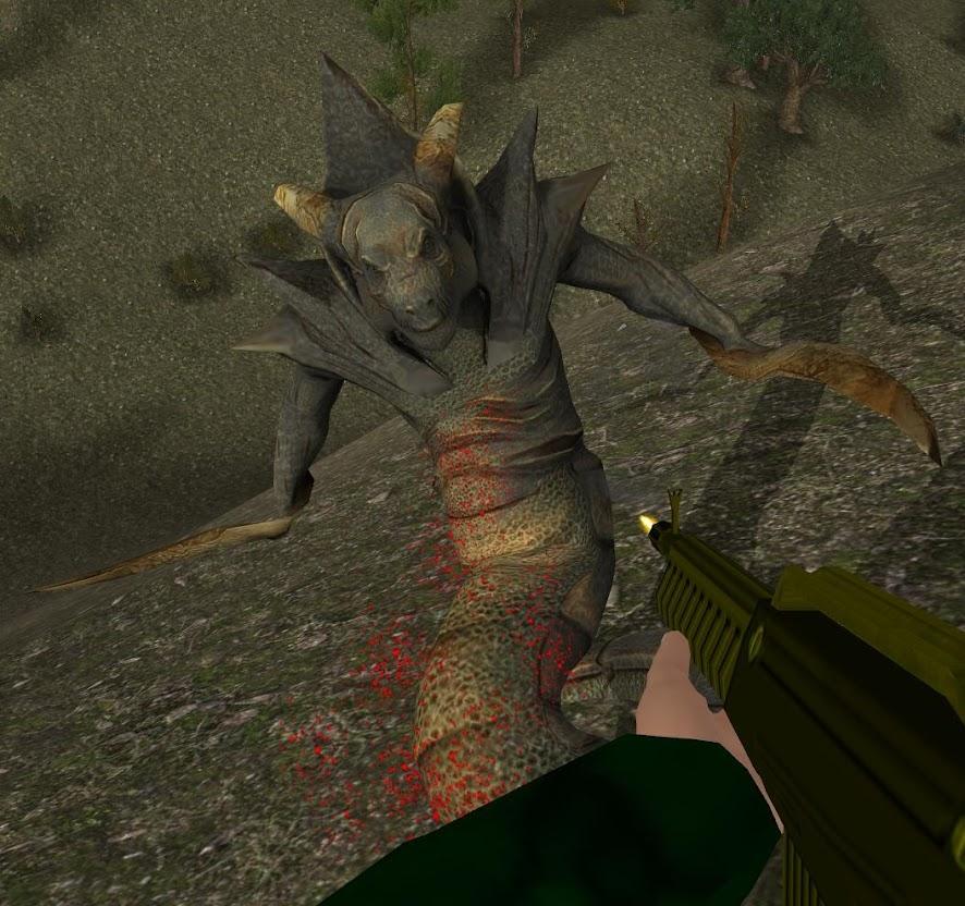 Creatures in Project Ion Alien02