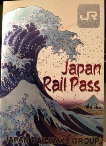 The Japan Rail Pass makes a pretty souvenir