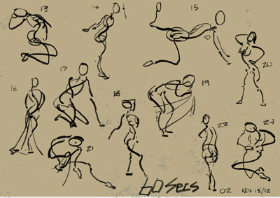 "Spartan Camp #244- 50 gestures + Optional ""Specialized Anatomy Study"""