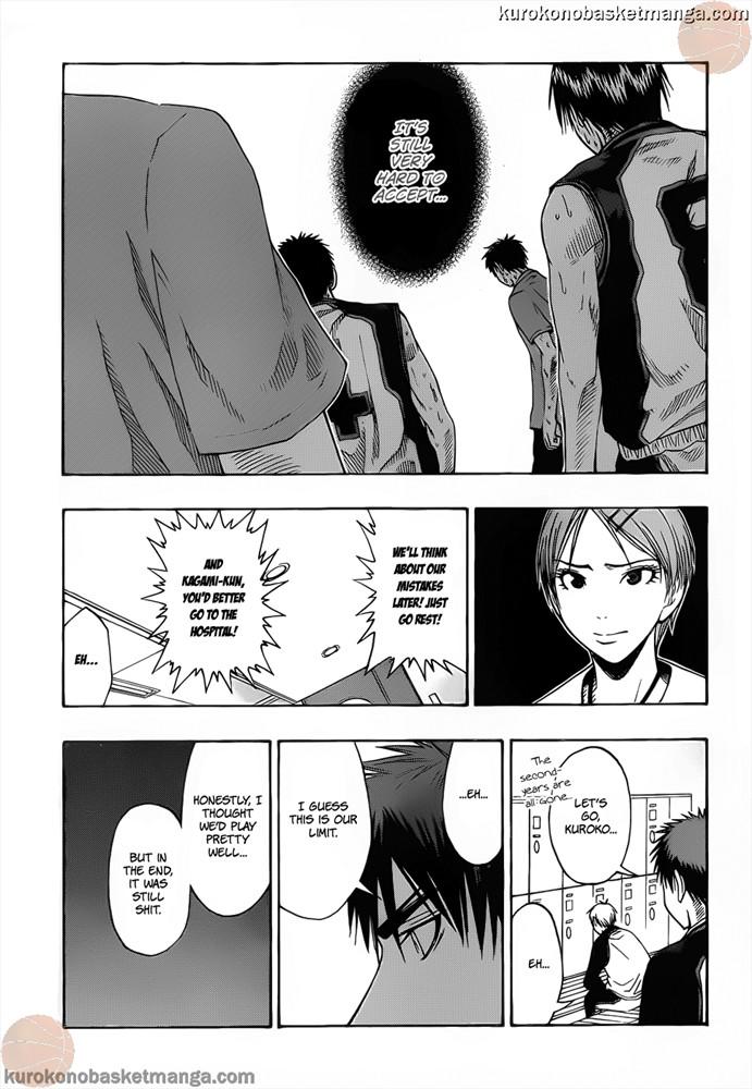 Kuroko no Basket Manga Chapter 51 - Image 09