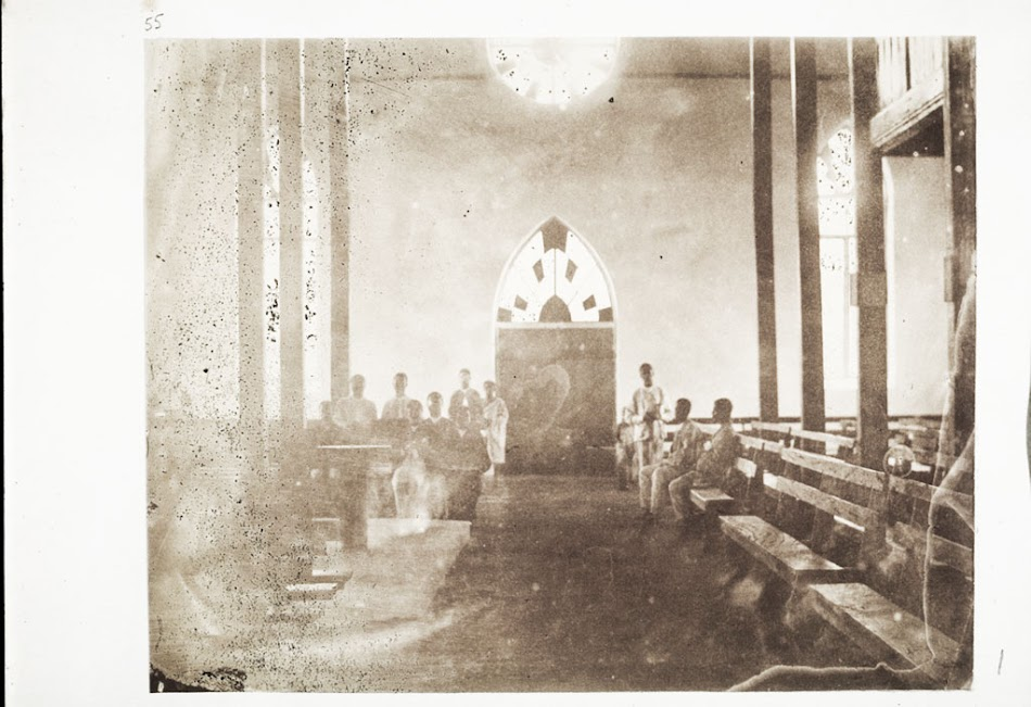 Interior Of The Jubilee Church In Akropong Looking At The