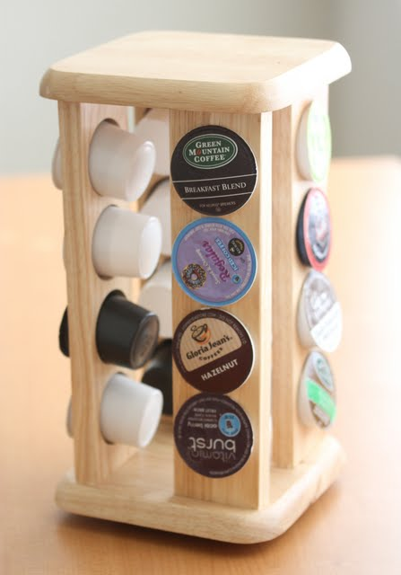 photo of a k-cup holder