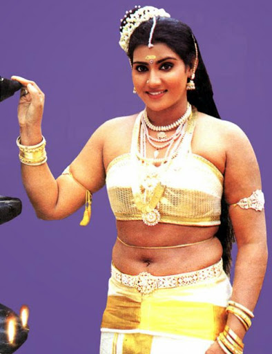 Divya Bharti in swimsuit from Naa Ille Naa Swargam