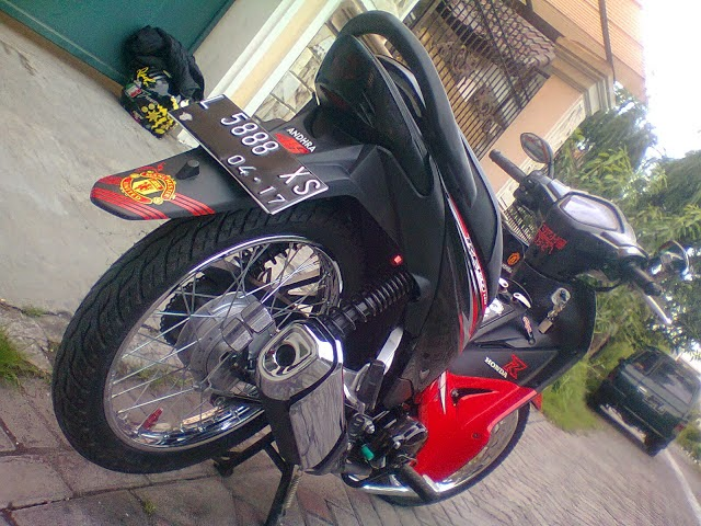 Revo Modifikasi Drag