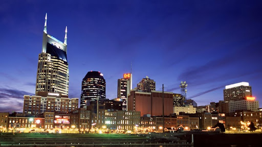 Downtown Nashville at Twilight, Tennessee.jpg