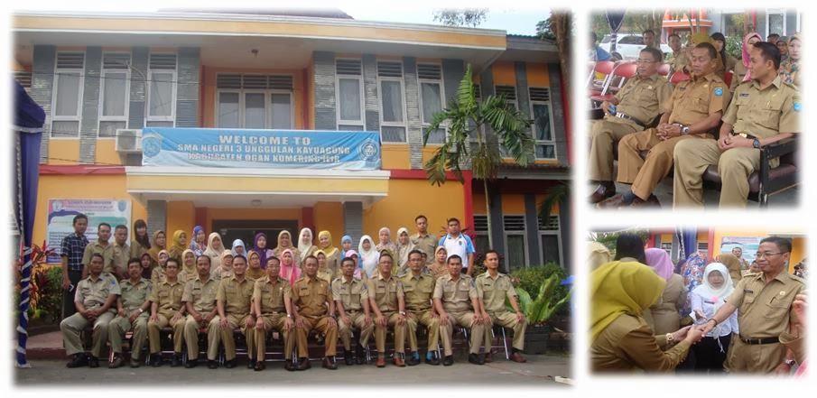 Pembinaan Apel Pagi Oleh Kepala Dinas Pendidikan OKI Sumatera Selatan
