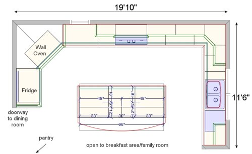 10x10 Kitchen Layouts House Furniture