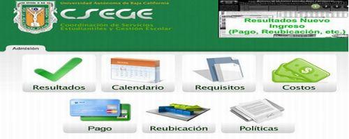 Resultados UABC 2012 2 15 Julio Csege Tijuana Mexicali Ensenada