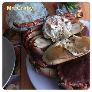 Mr. Crabby
