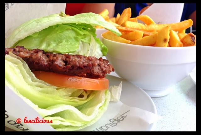Lunch With Hubby at Eddie Rockets