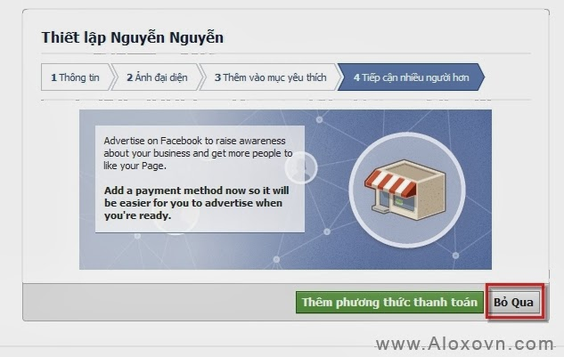 Hướng dẫn chuyển trang cá nhân facebook thành fanpage - hướng dẫn 11