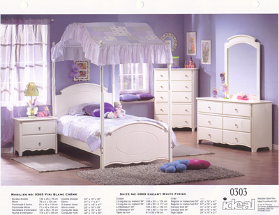 Girls Canopy Beds