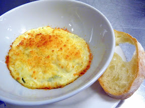 Caprial + John's Sunday Supper Tuesday cooking class roasted garlic goat cheese dip