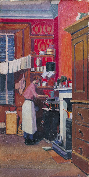 Spencer Gore - The gas cooker 1913