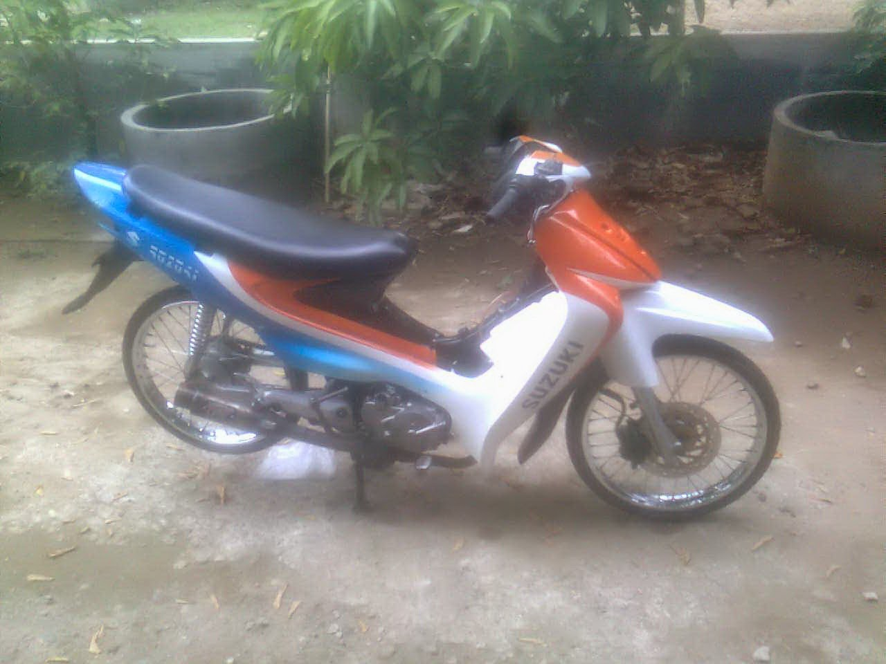 Modifikasi Motor Smash 110 Cc
