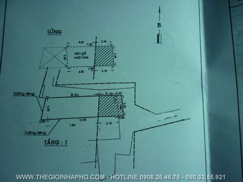 Bán nhà Hòa Bình , Quận 11 giá 1, 9 tỷ - NT13