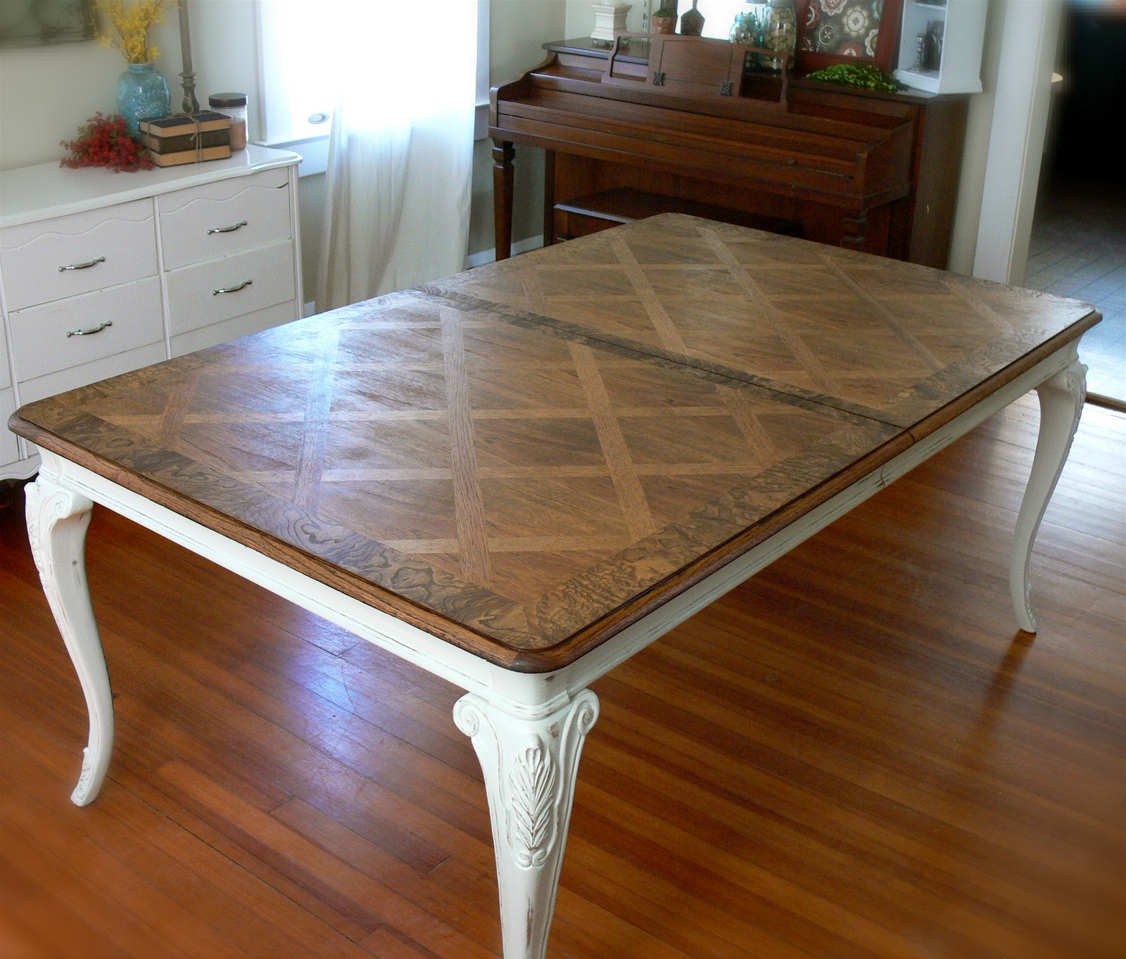 Seven Valley Hill Dining Room Table Makeover Reveal