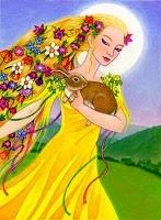 Goddess Eostre Image