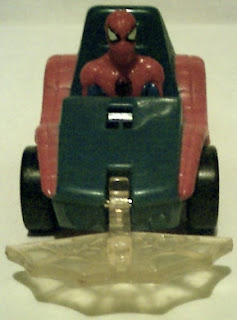 Front view of Spider-Man buggy 1996 with web down