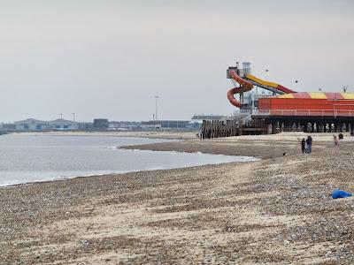 End of Britannia Pier