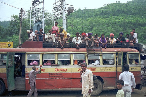 Image result for punjab roadways bus