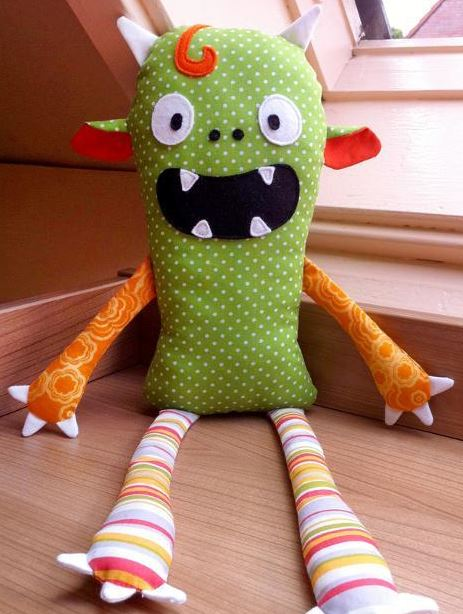 Stuffed Monster Toy, on Craftsy