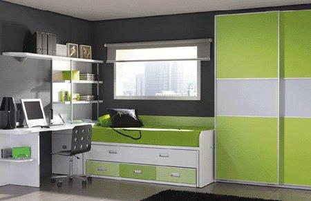 Combinaciones con gris for Combinaciones de color verde para interiores