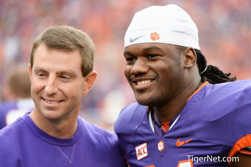 Clemson vs The Citadel - Seniors on the hill Photos - 2013, Dabo Swinney, Football, Quandon Christian, The Citadel