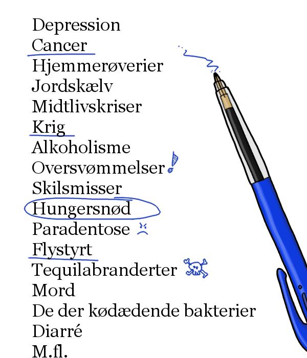 H. C. Andersen er en douche