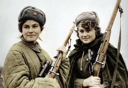 Снайперы РККА