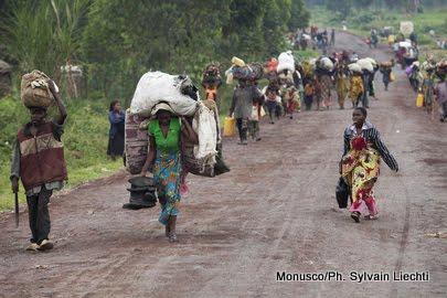 Masisi : 20 000 ménages fuient les affrontements entre miliciens à Iyana