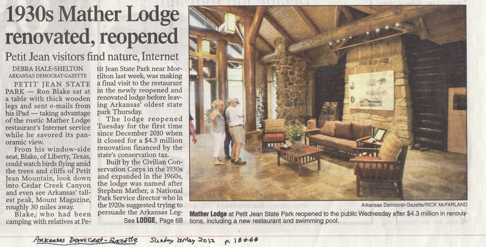 1930s Mather Lodge Renovated, Reopened