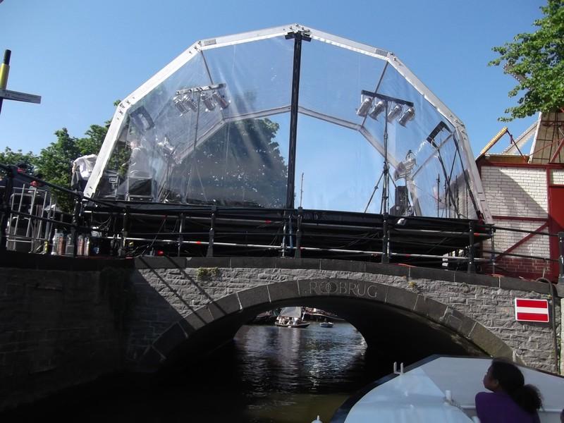 Dordrecht Ponte con telo