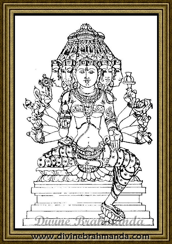 Soundarya Lahari Sloka, Yantra & Goddess For Moksha - 63