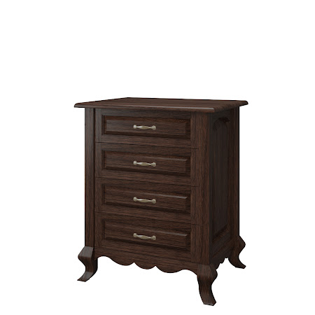 Matching Furniture Piece: Orleans Nightstand with Drawers, Stormy Walnut