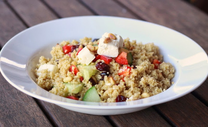 Super-Quick Couscous Salad