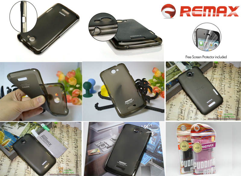 Remax Pudding Case HTC One X / One X+