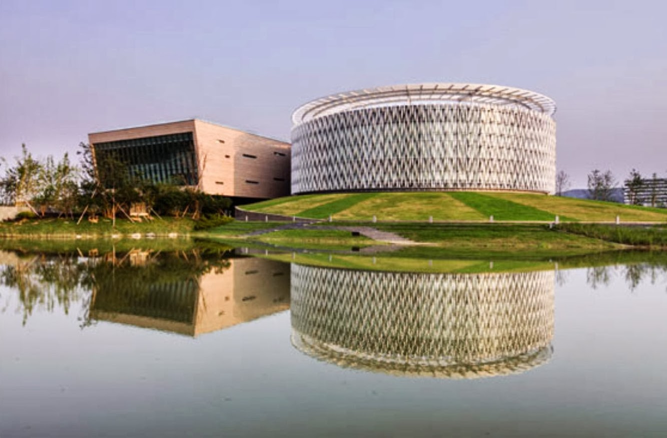 Suzhou District Planning Exhibition Hall by Bdp architects