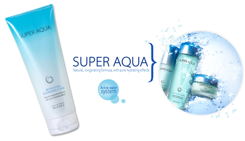 Missha Super Aqua Cleansing Foam
