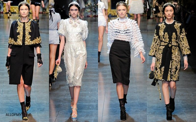 dolce&gabanna fall winter 2012