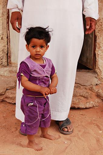 Иорданский маленький ребёнок
