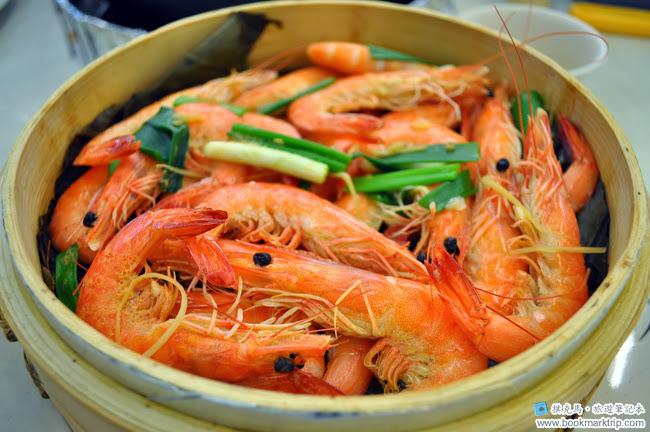 花壇公雞餐廳白灼鮮蝦