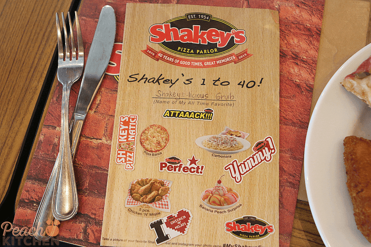 1 to 40 Meal Deal To Celebrate Shakey's 40 Years of Great Memories
